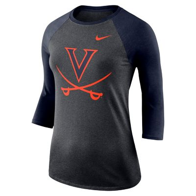 Women's Nike Virginia Cavaliers Baseball Tee