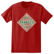 Big & Tall Tabasco Sauce Tee