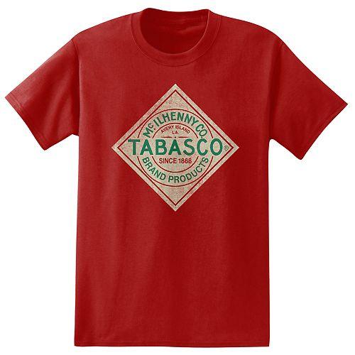 Big & Tall Tabasco Sauce Tee