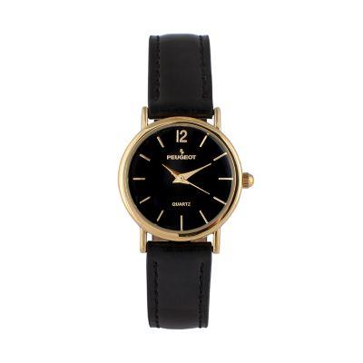 Peugeot Women's Classic Leather Watch - 3055BK