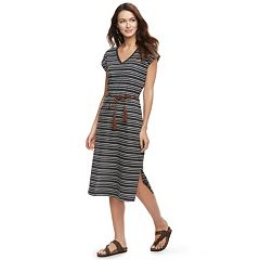 Women's SONOMA Goods for Life™ V-Neck Midi Dress