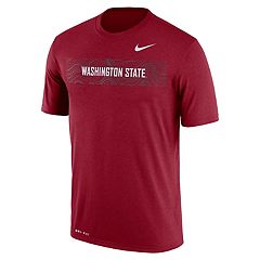 Men's Nike Washington State Cougars Legend Sideline Dri-FIT Graphic Tee