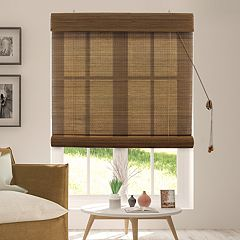 Chicology Bamboo Roll-Up Blinds