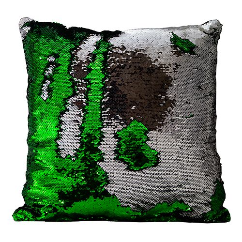 Posh Home Mermaid Sequin Throw Pillow