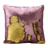 Posh Home Mermaid Sequin Throw Pillow