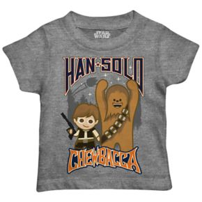 Toddler Boy Star Wars Han Solo & Chewbacca Graphic Tee
