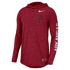 Men's Nike Arkansas Razorbacks Hoodie Tee