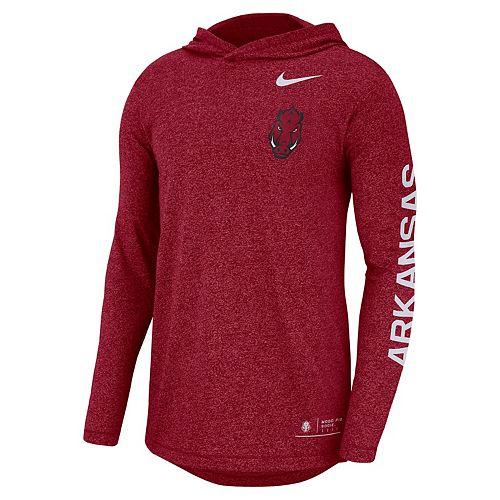 Men's Nike Arkansas Razorbacks Hoodie Tee