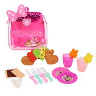 Disney's Minnie's Happy Helpers Backpack Picnic Set