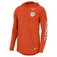 Men's Nike Clemson Tigers Hoodie Tee