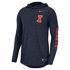 Men's Nike Illinois Fighting Illini Hoodie Tee