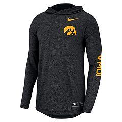 Men's Nike Iowa Hawkeyes Hoodie Tee