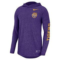 Men's Nike LSU Tigers Hoodie Tee
