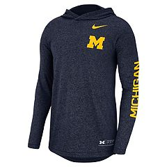 Men's Nike Michigan Wolverines Hoodie Tee