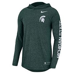 Men's Nike Michigan State Spartans Hoodie Tee