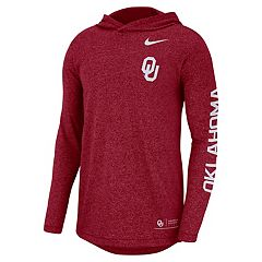 Men's Nike Oklahoma Sooners Hooded Top