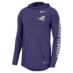 Men's Nike TCU Horned Frogs Hoodie Tee