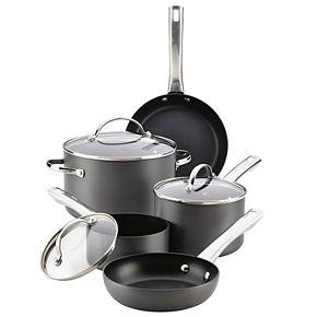 Farberware 10-pc. Hard-Anodized Nonstick Cookware Set