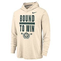 Men's Nike Michigan State Spartans Slubbed Hoodie