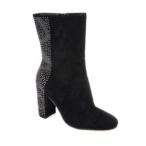 American Glamour by Badgley Mischka Ada Women's High Heel Boots