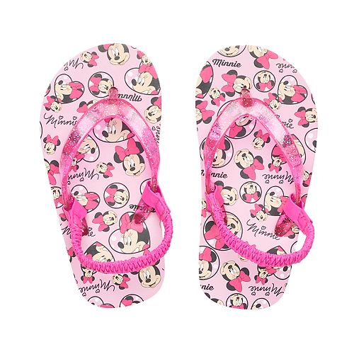 c182c3efd058ac Disney s Minnie Mouse Toddler Girl Thong Flip Flop Sandals