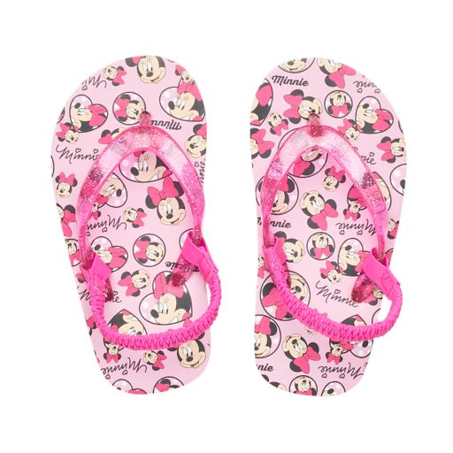 Disney's Minnie Mouse Toddler Girl Thong Flip Flop Sandals