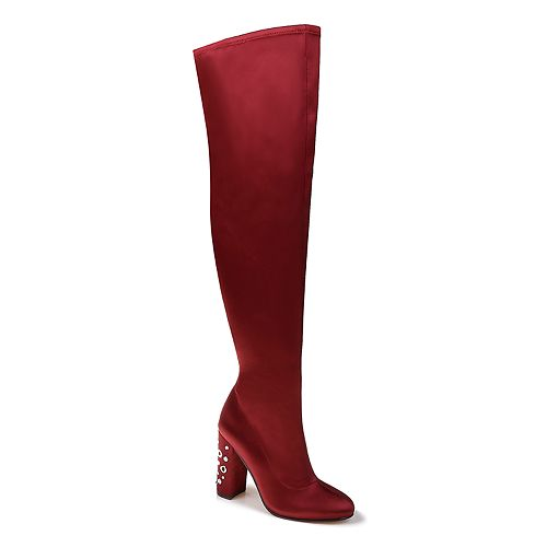 American Glamour by Badgley Mischka Addison Women's Over-The-Knee Boots