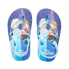 Disney's Frozen Elsa & Anna Thong Flip Flop Sandals