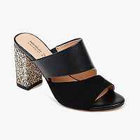American Glamour by Badgley Mischka Brooke Women's High Heel Mules