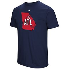 Men's Under Armour Atlanta Braves State Tee