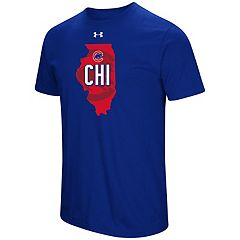 Men's Under Armour Chicago Cubs State Tee