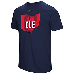 Men's Under Armour Cleveland Indians State Tee