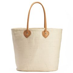 SONOMA Goods for Life™ Seagrass Tulip Tote