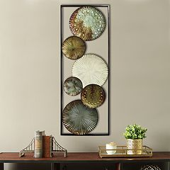 Stratton Home Decor Circle Panel Wall Decor