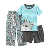 Toddler Boy Carter's 3 pc Dog Pajama Set
