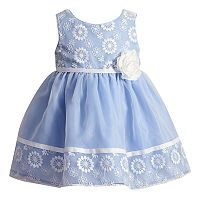 Toddler Girl Youngland Floral Organza Dress