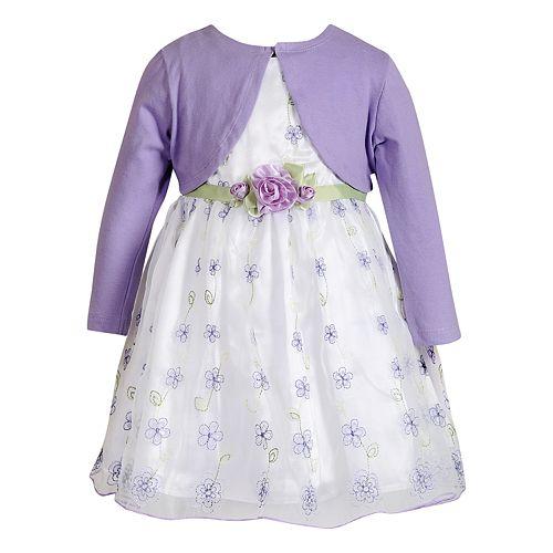 Toddler Girl Youngland Floral Dress & Shrug Set