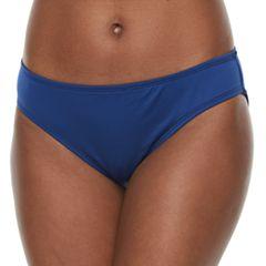 Women's Apt. 9® Cinch-Back Bikini Bottoms