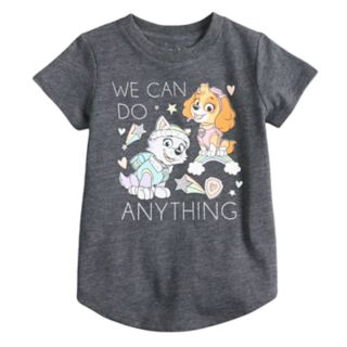 "Toddler Girl Jumping Beans® Paw Patrol Skye & Everest ""We Can Do Anything"" Glittery Graphic Tee"