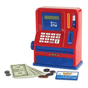 Learning Resources Pretend and Play Teaching ATM Bank