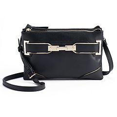 Jennifer Lopez Lola Double-Entry Mini Crossbody Bag