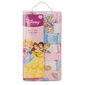 Disney's Princess Toddler Girl 7-pk. Briefs