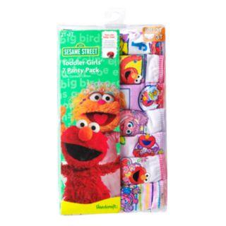 Sesame Street Elmo & Abby Cadabby 7-pk. Briefs - Toddler Girl
