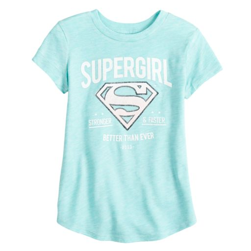 "Toddler Girl Jumping Beans® DC Comics ""Supergirl"" Graphic Tee"