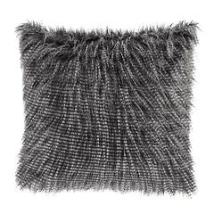 Madison Park Edina Faux Fur Throw Pillow