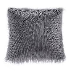 Madison Park Edina Faux Fur Throw Pillow