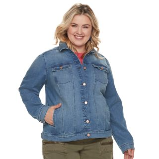 Plus Size SONOMA Goods for Life? Jean Jacket