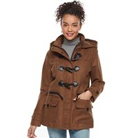 Juniors' Urban Republic Hooded Toggle Coat