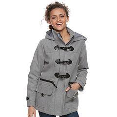 Juniors' Urban Republic Hooded Toggle Coat