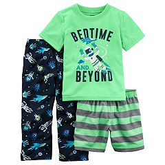 Toddler Boy Carter's 3 pc 'Bedtime & Beyond' Space Pajama Set